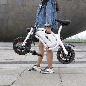 bicicleta eléctrica migo ebikeb3 350w pegable